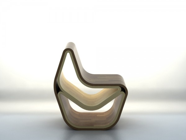 GVAL Chair – wooden shape
