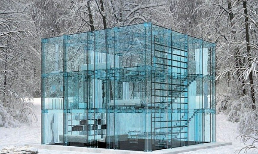 Glass House by Santambrogio Lacks Privacy, Charms With Coolness