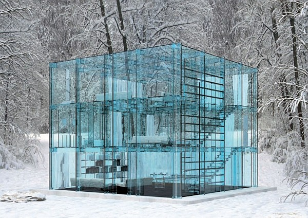Glass House architectur Glass House by Santambrogio Lacks Privacy, Charms With Coolness