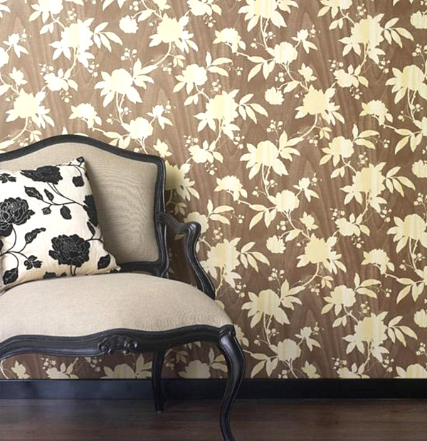 Graham and Brown Bloomer Wallpaper.png Adding Style With Patterned Wallpaper