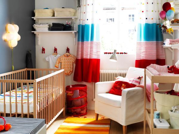 25 modern nursery design ideas - Couette lit bebe ikea ...