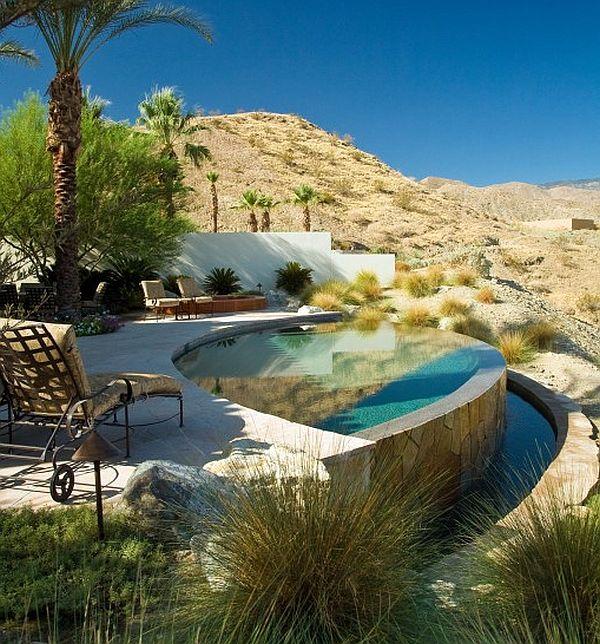 Infinity pool on sloped plane – Sonoran Desert 8