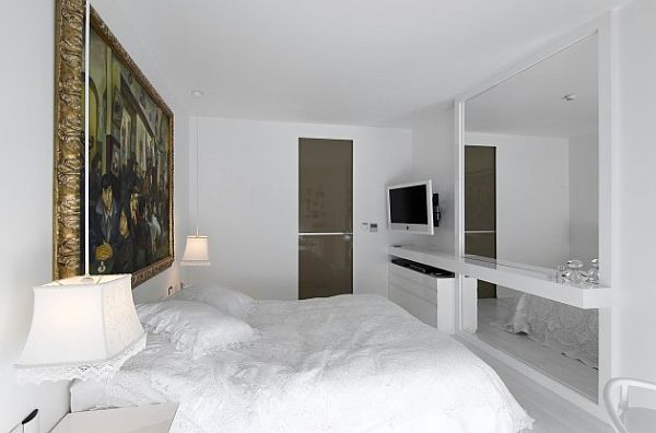White Bedroom Apartment Luxury Home In Istanbul Traditional Style Meets Contemporary