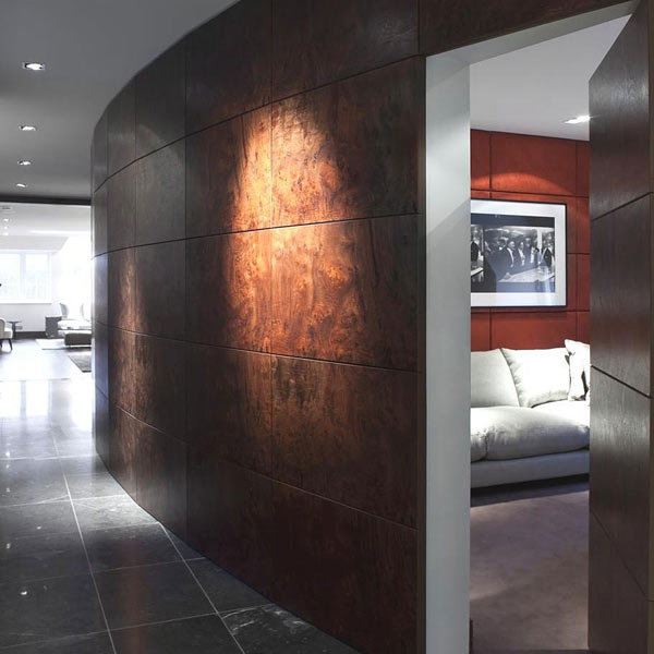 Turnberry Place Apartments: Bold Contemporary Penthouse Spreading Over Two Floors