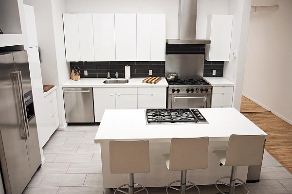 Kitchen furniture with island in rental home Getting your Space Rent Ready: What You Need to Know, What Tenants Need to Have