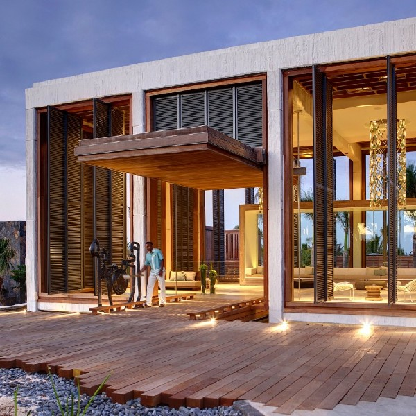 Long Beach Hotel Mauritius contemporary exterior Beach Hotel on the Eastern Coast of Mauritius is All About Luxury