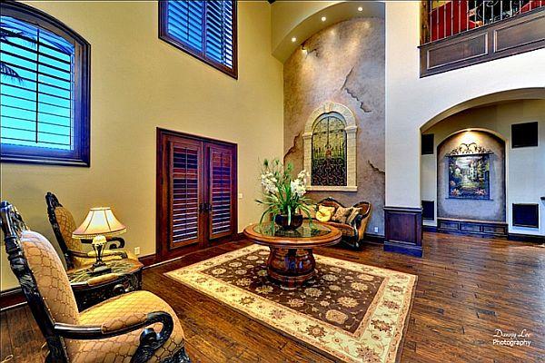 Luxury Home Washington – Tuscan Villa 10 – traditional relaxing area