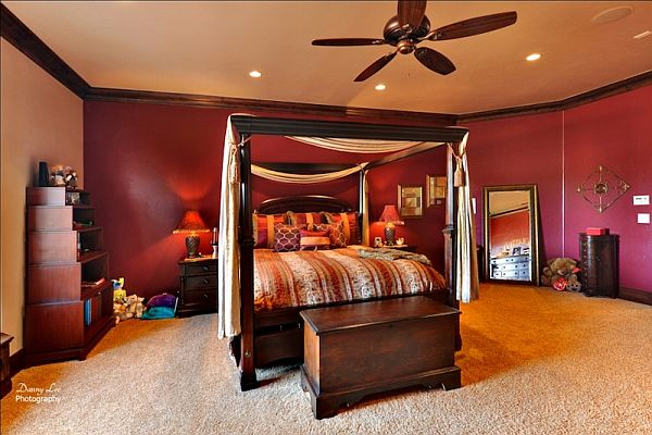 Luxury Home Washington – Tuscan Villa 12 – sober kids bedroom design
