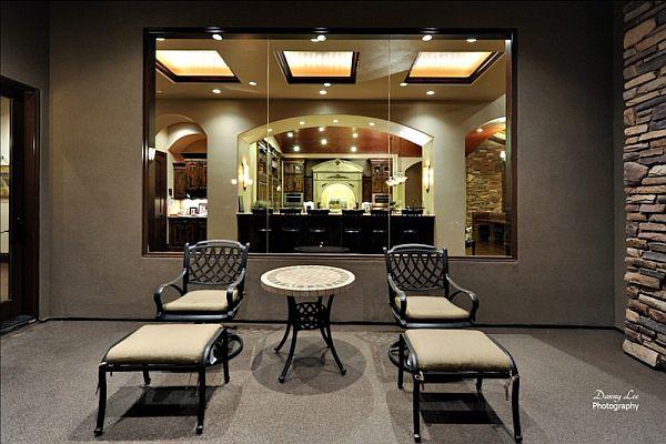 Luxury Home Washington – Tuscan Villa 15 – outdoor loungers