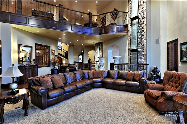 extraordinary luxury mansion living room | Luxury Tuscan Style Mansion in Washington is An ...