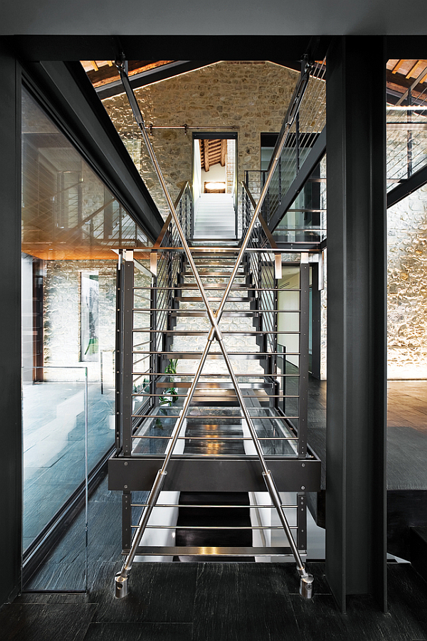 Luxury Renovated Farmhouse - staircases