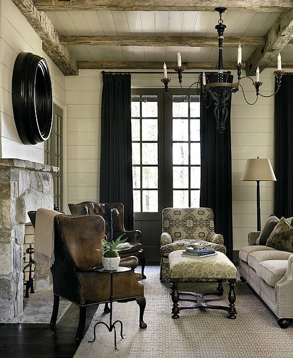 Luxury Rustic Interiors – Blue Ridge Mountains Home 3