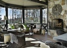 Refined Rustic Living: Country Chic Mountain Retreat