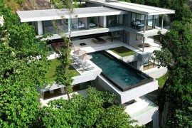 Villa Amanzi in Phuket Treats With Luxury, Awesome Scenery & Sea Views