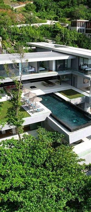Luxury Villa Amanzi, Phuket, Thailand 1 - Aerial view