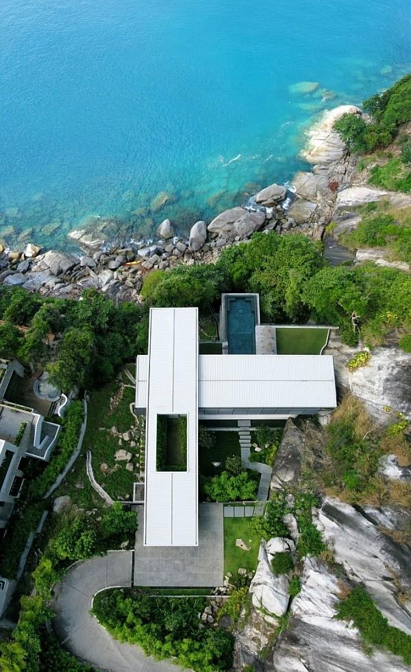 Luxury Villa Amanzi, Phuket, Thailand 12 – helicopter view