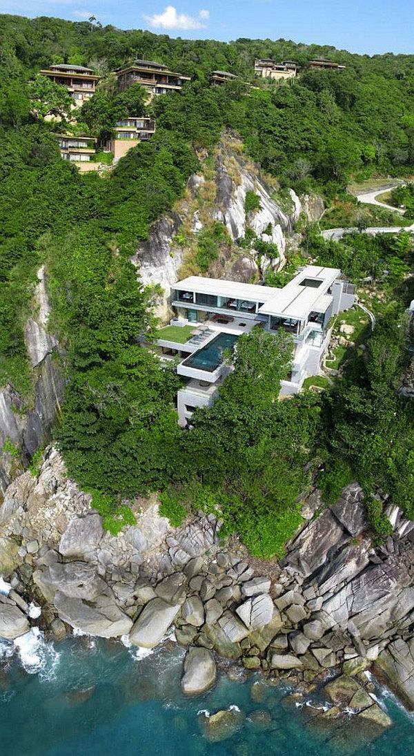 Luxury Villa Amanzi, Phuket, Thailand 13 – cliff rental house
