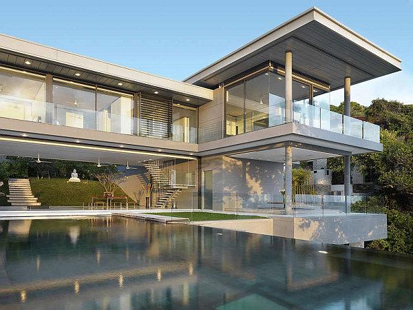 Luxury Villa Amanzi, Phuket, Thailand 2 – glass house