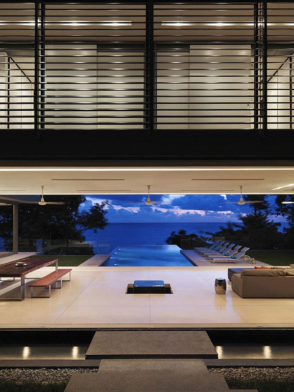 Luxury Villa Amanzi, Phuket, Thailand 4 – living room with stunning sea views