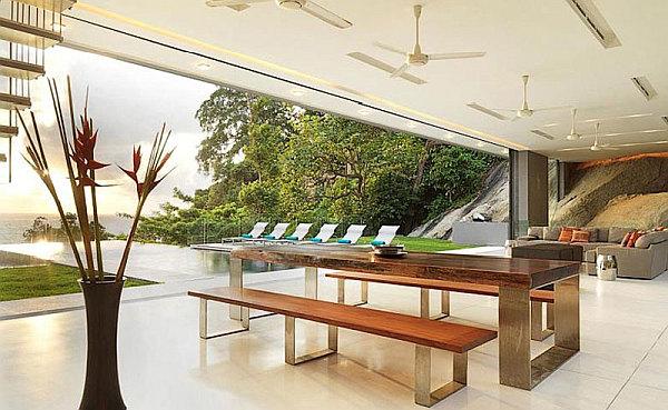 Luxury Villa Amanzi, Phuket, Thailand 7 – contemporary dining area