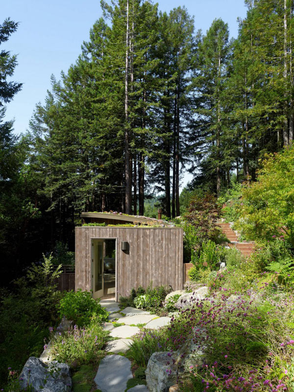 Mill valley cabins addition set in a picturesque landscape for Mill valley cabins