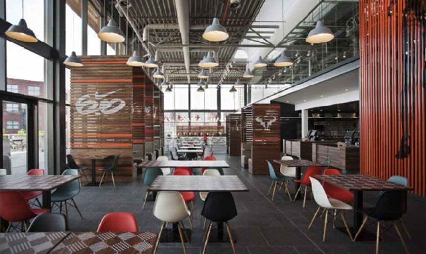 Sports-Inspired Nike Corporate Canteen Designed by UXUS