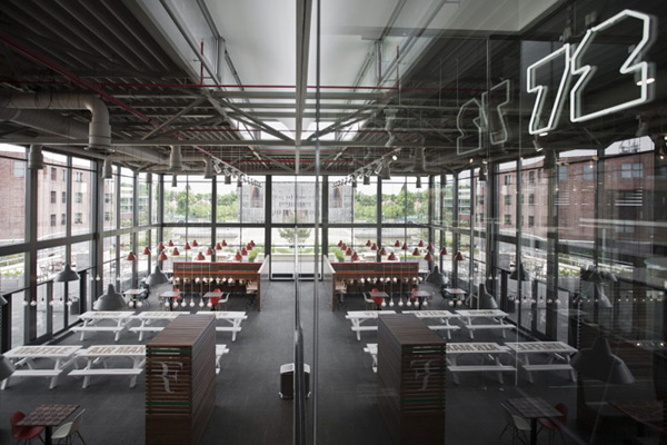 Sports Inspired Nike Corporate Canteen Designed By Uxus
