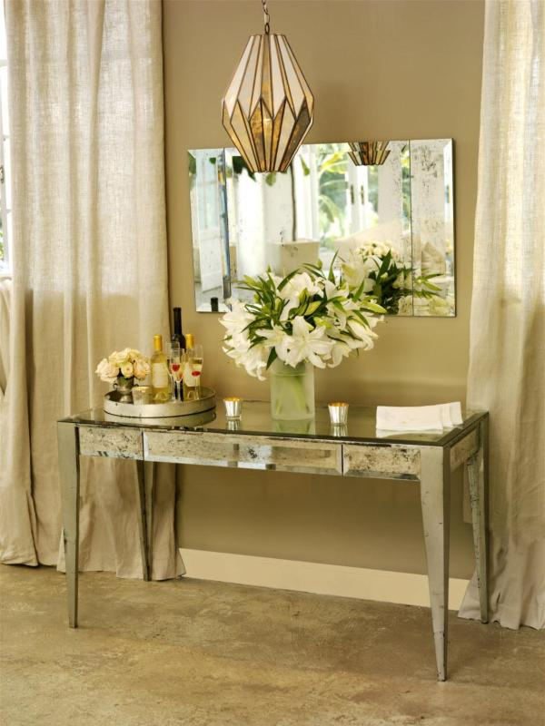 Mirrored Vanities. Adding Shine With Mirrored Furniture