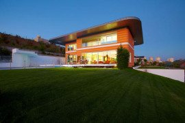 Orange House in Turkey - exterior
