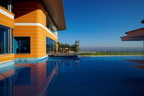 The Orange House In Turkey Is Vibrant And Spell Binding
