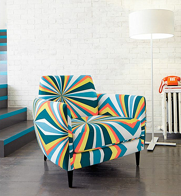 Parlour Bold Chair.png Decorating With Patterned Upholstered Furniture