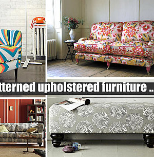 Patterned Upholstered Furniture