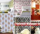 Patterned Wallpaper design ideas