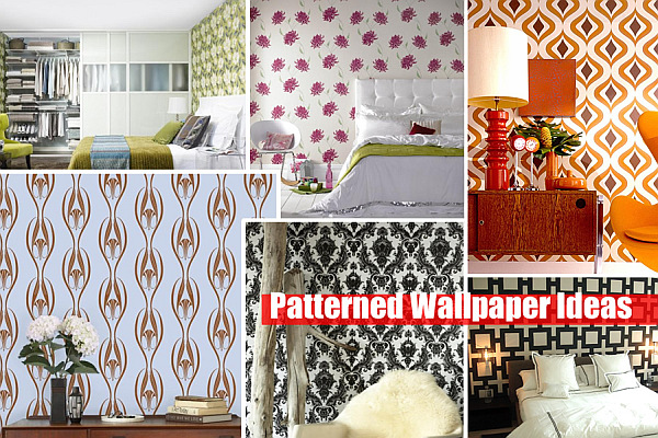 Patterned Wallpaper design ideas Adding Style With Patterned Wallpaper
