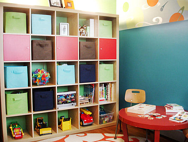 20 playroom design ideas - Kids room storage ideas for small room ...