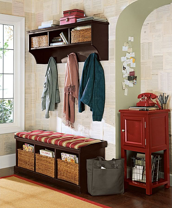 entryway storage - Entryway Design Ideas