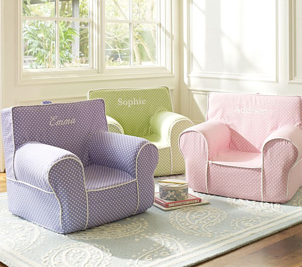 20 playroom design ideas for Kids chair with name