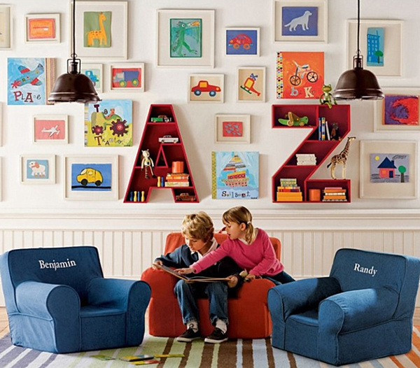 Clever And Creative Ideas For The Ultimate Playroom: 20 Playroom Design Ideas