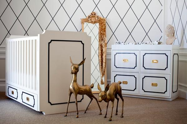 For A Lacquered Yet Child Friendly Approach To Elegant Nursery Decor