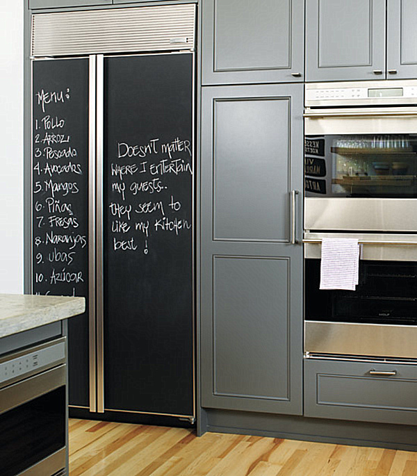Delicieux Chalkboard Paint In The Kitchen