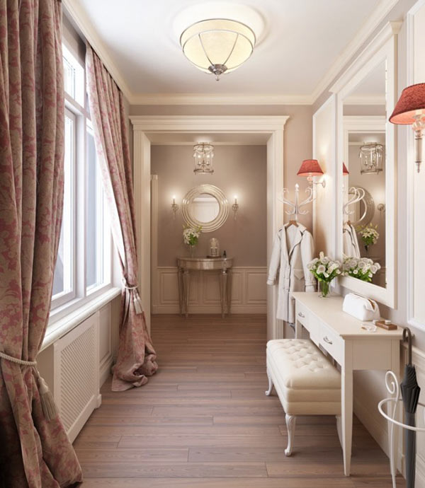 Russian Apartment Design hallway Classy St. Petersburg Apartment by Anton Valiev
