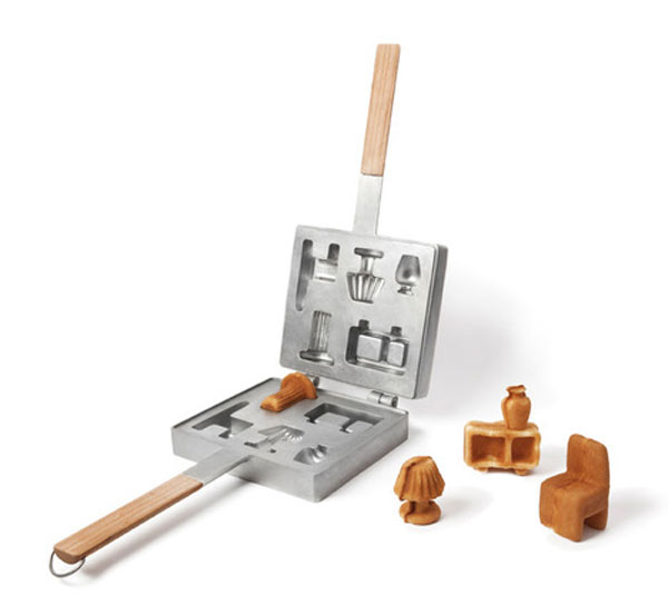 Sapore dei Mobili by Rui Pereira and Ryosuke Fukusada 1 Breakfast Idea   Tasting Tiny Pieces Of Furniture