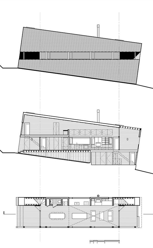 Sliding House in Canada – plans 12