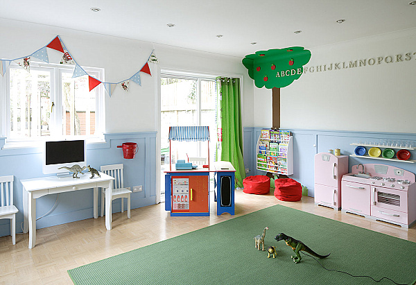 20 playroom design ideas for Kids play rooms