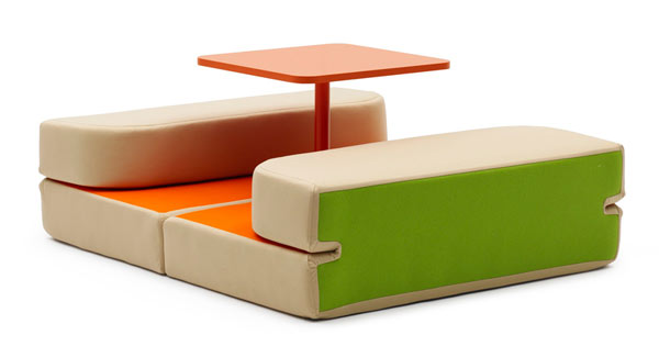 Sweet Talk and Dream by Matali Crasset1 Multipurpose Surface Upgrades Versatile Furniture Design
