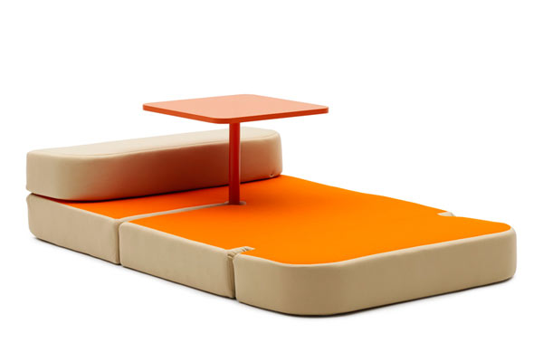 Sweet Talk and Dream by Matali Crasset2 Multipurpose Surface Upgrades Versatile Furniture Design