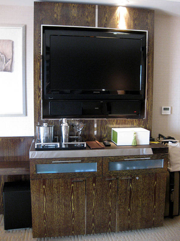 tv minibar furniture combo set