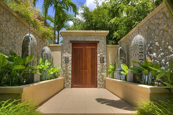 Five bedroom luxury seaside villa in phuket is enchanting for Villa entrance door designs