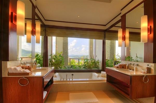 enchanting modern bathroom ideas | Five-Bedroom Luxury Seaside Villa in Phuket, Is Enchanting
