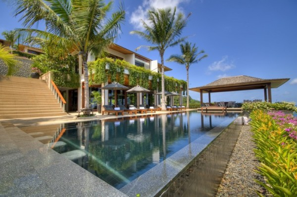 Thai Luxury Seaside Villa outdoor pool Five Bedroom Luxury Seaside Villa in Phuket, Is Enchanting